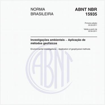 NBR15935 de 03/2011