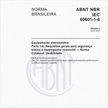 NBRIEC60601-1-6 de 03/2011