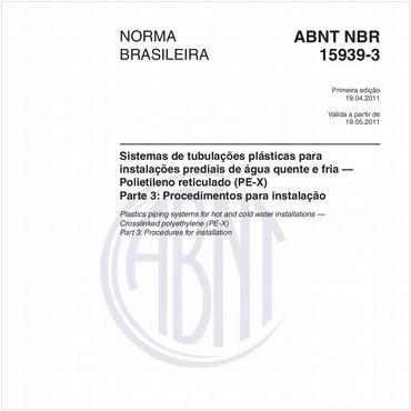 NBR15939-3 de 04/2011