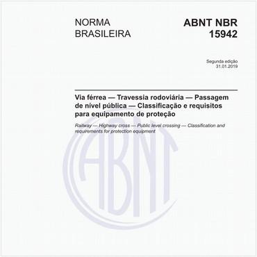 NBR15942 de 01/2019