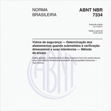 NBR7334 de 12/2011