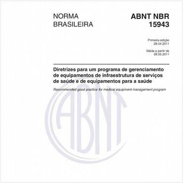 NBR15943 de 04/2011