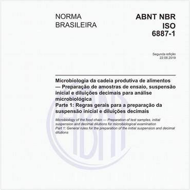 NBRISO6887-1 de 08/2019