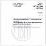 ABNT ISO/IEC TR 20000-5
