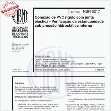 NBR8217 de 10/1983