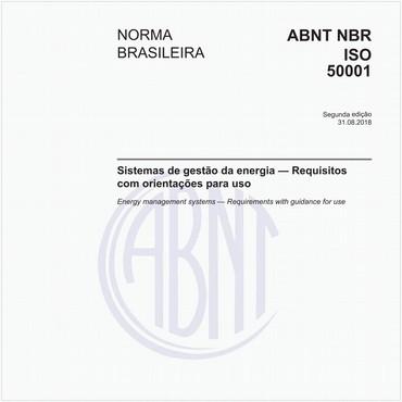 NBRISO50001 de 08/2018