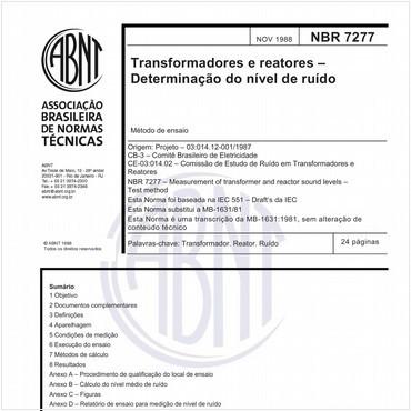 NBR7277 de 11/1988