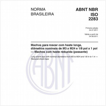 NBRISO2283 de 07/2011