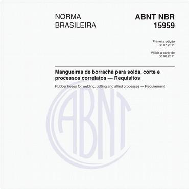 NBR15959 de 07/2011