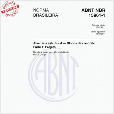 NBR15961-1 de 07/2011