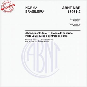 NBR15961-2 de 07/2011