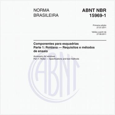 NBR15969-1 de 07/2011