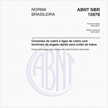 NBR15978 de 09/2011