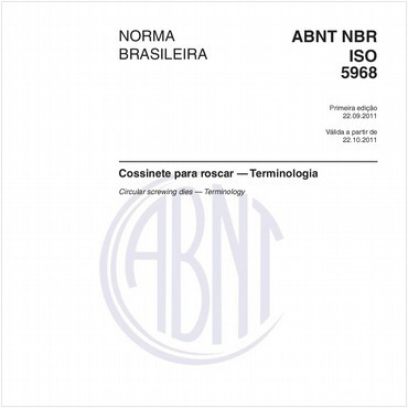 NBRISO5968 de 09/2011