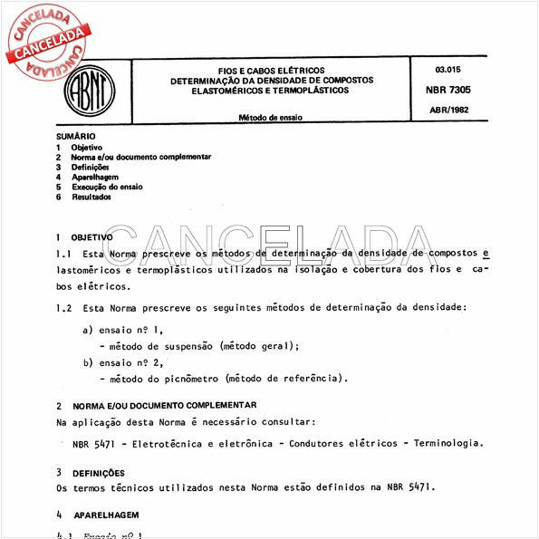 NBR7305 de 06/2001