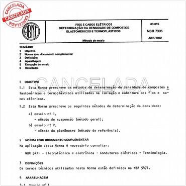 NBR7305 de 04/1982