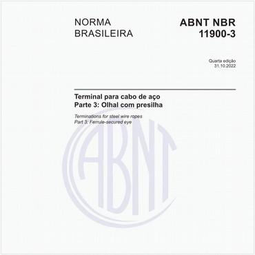 NBR11900-3 de 12/2018