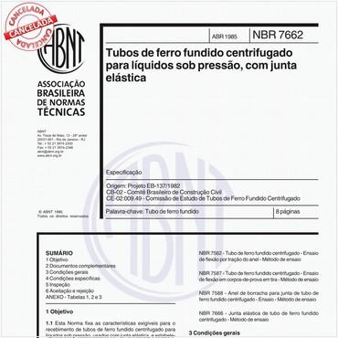 NBR7662 de 04/1985