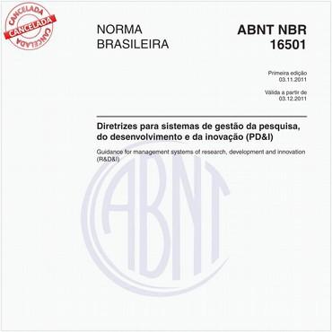 NBR16501 de 11/2011