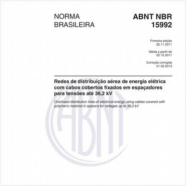 NBR15992 de 11/2011