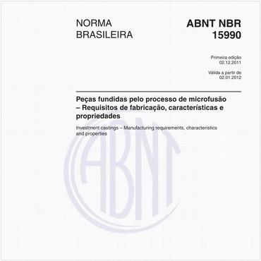 NBR15990 de 12/2011