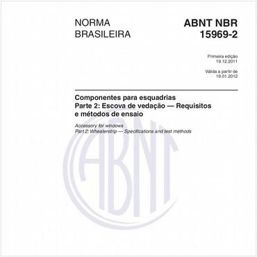 NBR15969-2 de 12/2011