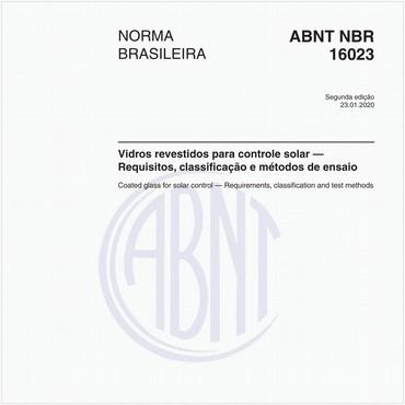 NBR16023 de 01/2020
