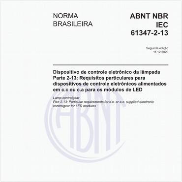 NBRIEC61347-2-13 de 12/2020
