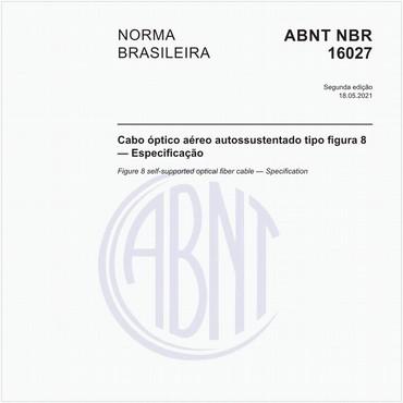 NBR16027 de 01/2012