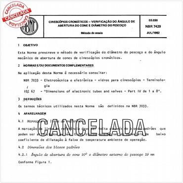 NBR7429 de 07/1982