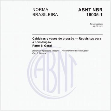 NBR16035-1 de 10/2012