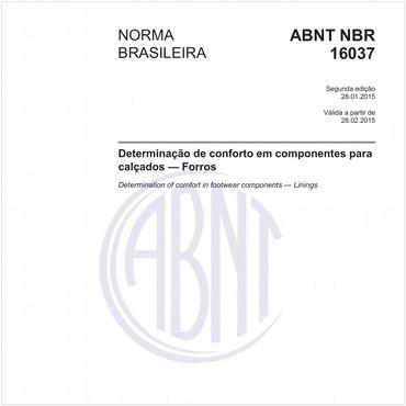 NBR16037 de 01/2015