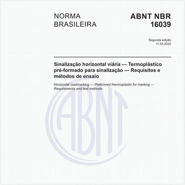 NBR16039 de 03/2012