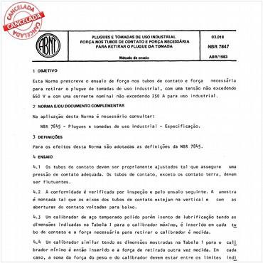NBR7847 de 04/1983