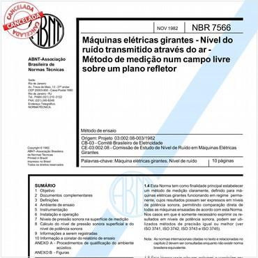 NBR7566 de 11/1982