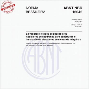 NBR16042 de 04/2012