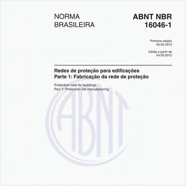 NBR16046-1 de 04/2012