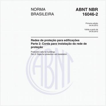 NBR16046-2 de 04/2012