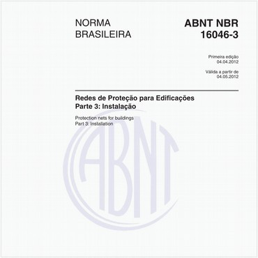NBR16046-3 de 04/2012