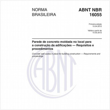 NBR16055 de 04/2012