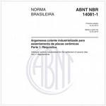 NBR14081-1 de 04/2012