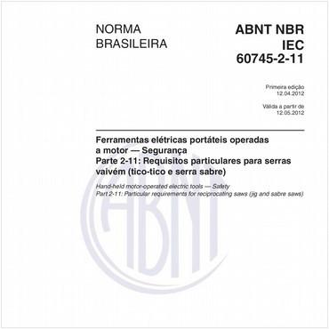 NBRIEC60745-2-11 de 04/2012