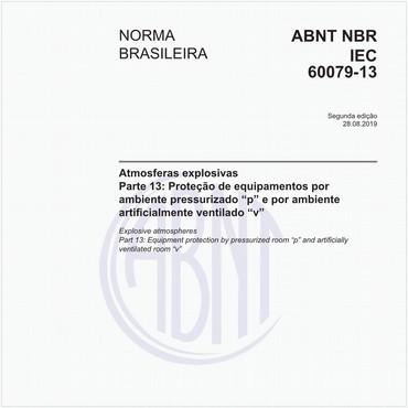 NBRIEC60079-13 de 08/2019