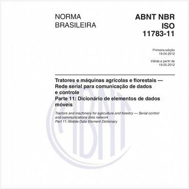 NBRISO11783-11 de 04/2012