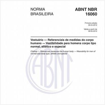 NBR16060 de 04/2012