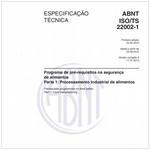 ABNT ISO/TS22002-1