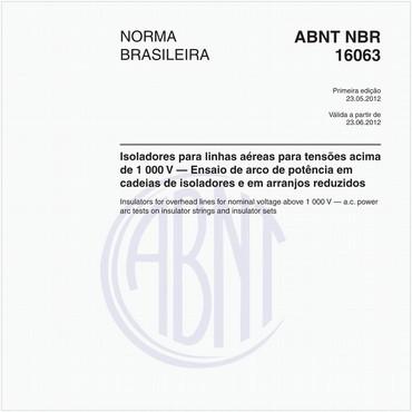 NBR16063 de 05/2012