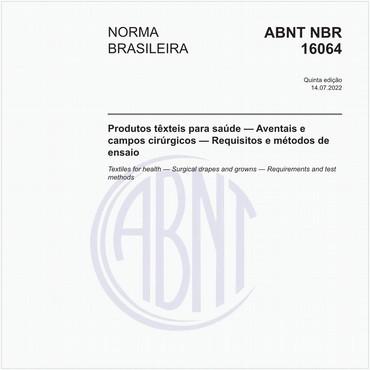 NBR16064 de 10/2016