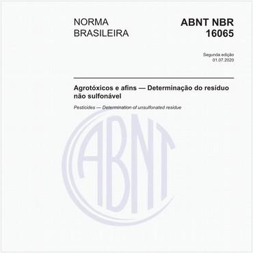 NBR16065 de 05/2012