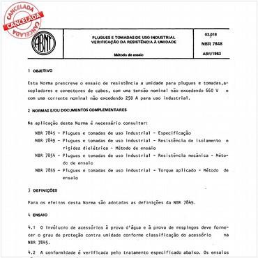 NBR7848 de 04/1983